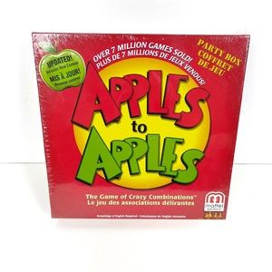 New in Box Apples to Apples Board Game
